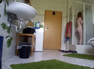 Shower voyeuring of my step step-sister