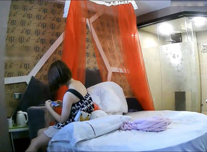 Chinese duo penetrates under voyeur in..