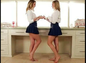 Fabulous twins Mia Malkova and Kenna..