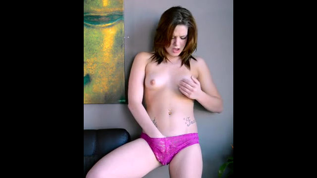 Ultra-cute Abby Paradise pummels her..