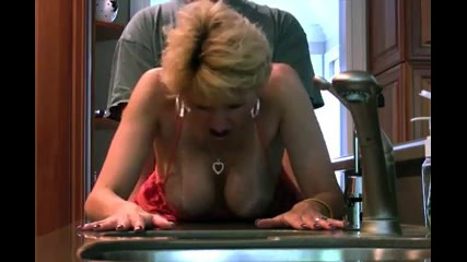 Mischievous mature milf boinking at home